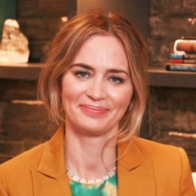 Emily Blunt Talks Working With '50 Shades' Heartthrob Jamie Dornan for New Film