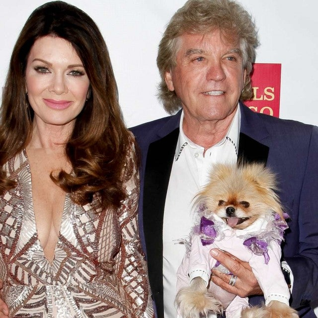 Lisa Vanderpump, Giggy and Ken Todd attend the Gay Men's Chorus of Los Angeles 6th annual Voice Awards at JW Marriott Los Angeles at L.A. LIVE on May 20, 2017 in Los Angeles, California.