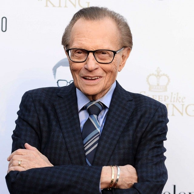 Broadcast journalist Larry King arrives at his 60th Broadcasting Anniversary Event at HYDE Sunset: Kitchen + Cocktails on May 1, 2017 in West Hollywood, California.