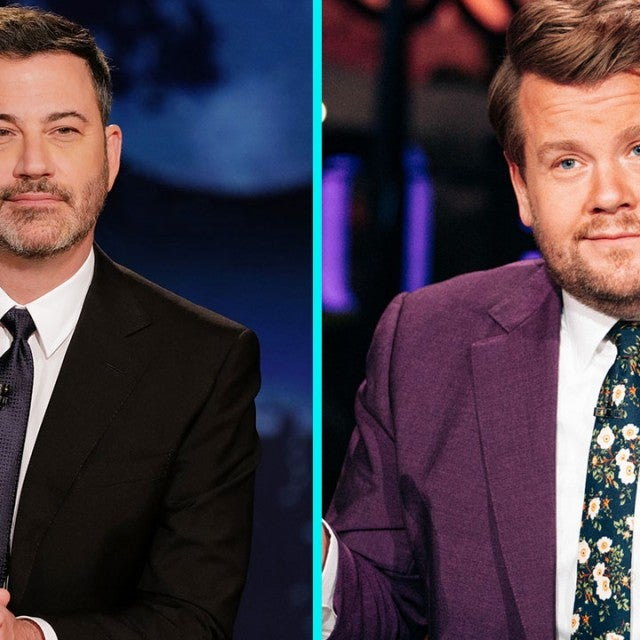 Jimmy Kimmel and James Corden