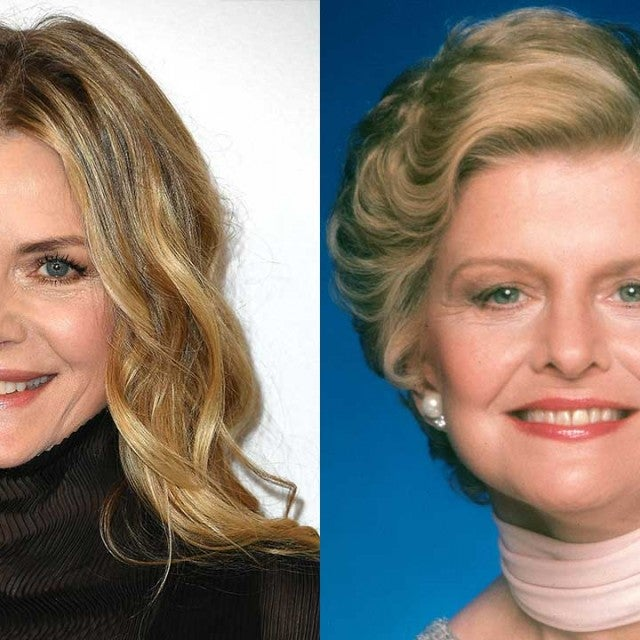 Michelle Pfeiffer and Betty Ford