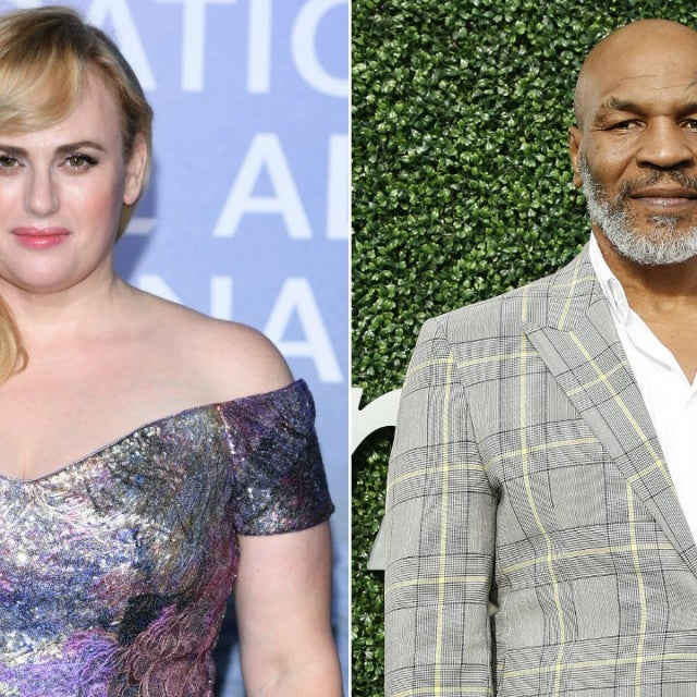 Rebel Wilson and Mike Tyson