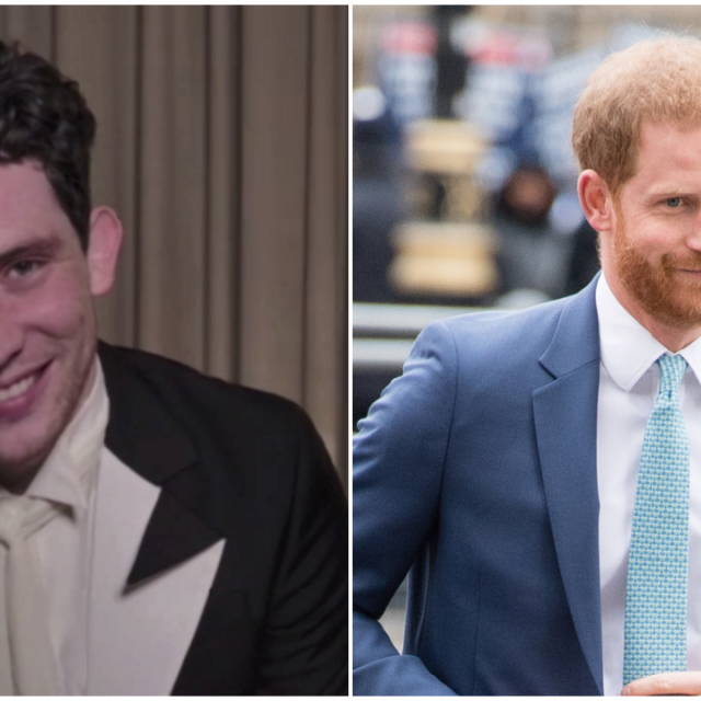 Josh O'Connor Prince Harry Split