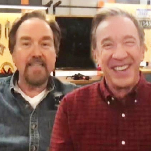 'Home Improvement' Stars Tim Allen and Richard Karn Talk Reuniting for 'Assembly Required'