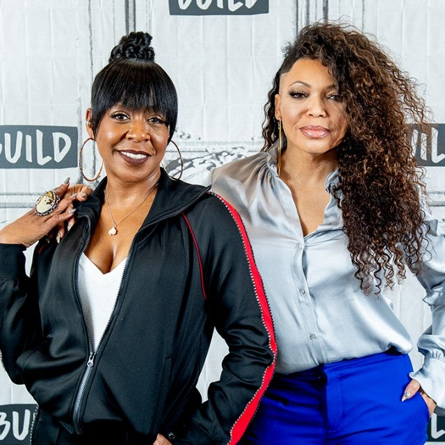 Tichina Arnold and Tisha Campbell