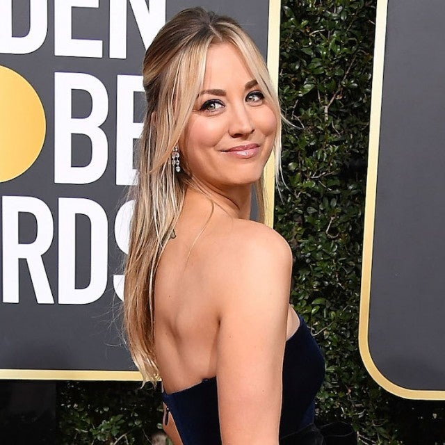 Kaley Cuoco Golden Globes