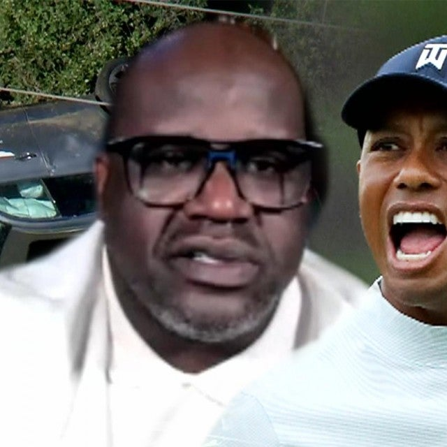 Shaquille O'Neal Reacts to Tiger Woods' Devastating Car Crash (Exclusive)