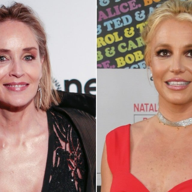 Sharon Stone and Britney Spears
