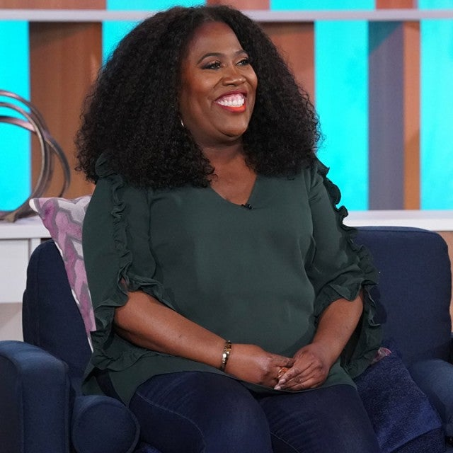 """The Talk,"" Friday, February 19th, 2021 on the CBS Television Network. Sheryl Underwood shown."