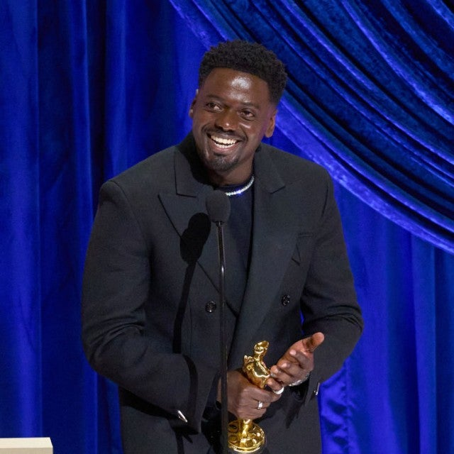 Daniel Kaluuya at the 2021 Academy Awards