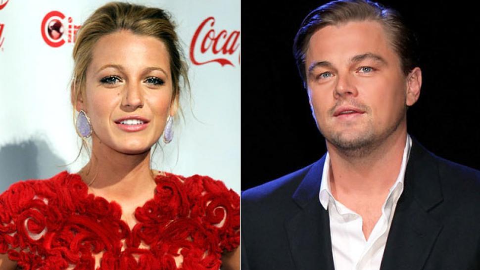 Blake Lively Leonardo Dicaprio Split Entertainment Tonight