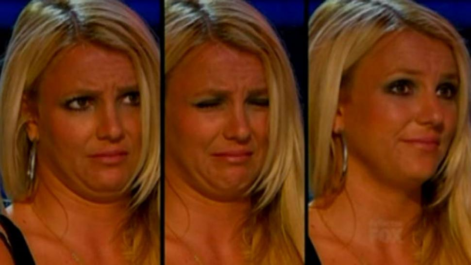 Britney Spears X Factor Faces