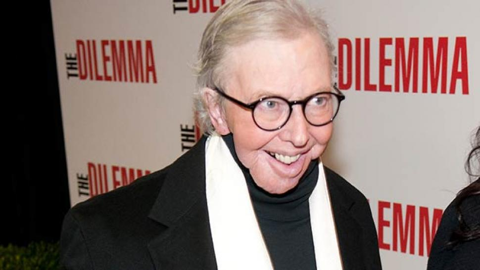 roger ebert reveals new cancer diagnosis entertainment tonight