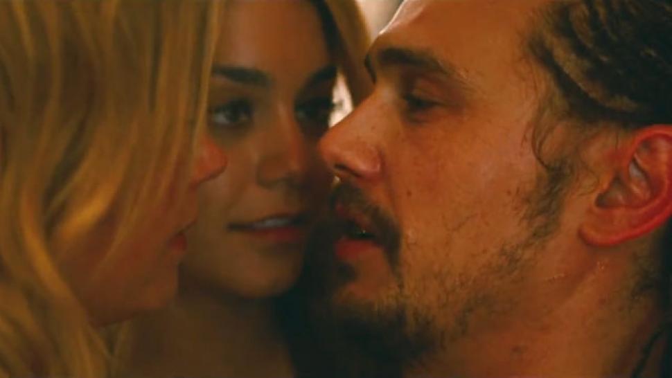 spring breakers film public sex scenes
