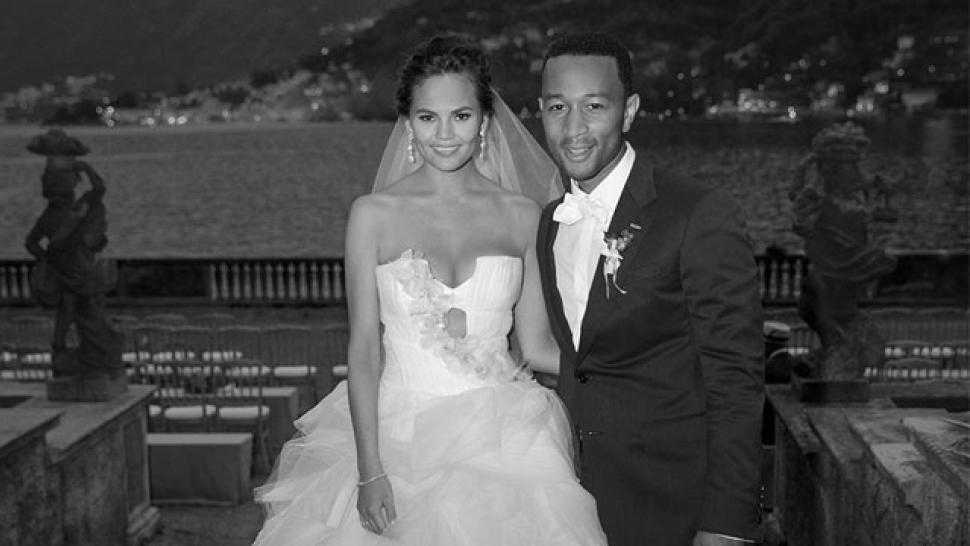 John Legend, Chrissy Teigen Wedding Photo | Entertainment Tonight