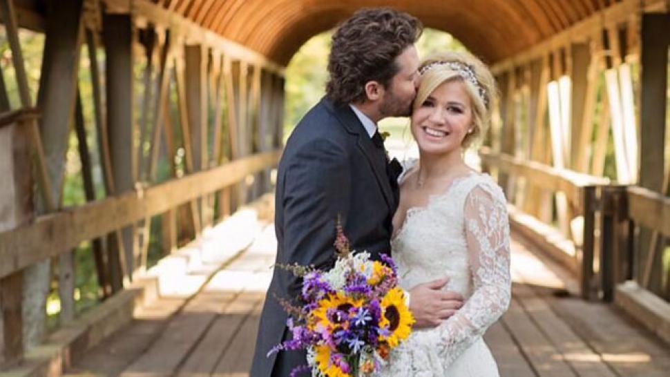 Kelly Clarkson Wedding.Watch Kelly Clarkson Shares Wedding Video Entertainment