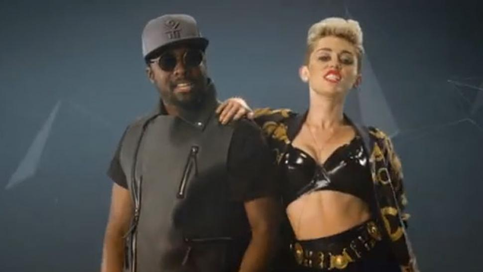 WATCH: Miley Raps & Twerks For will.i.am