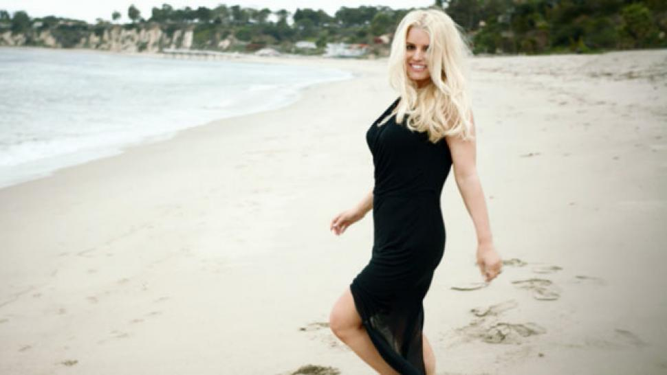 Jessica Simpson's weight confession on Entertainment Tonight ...