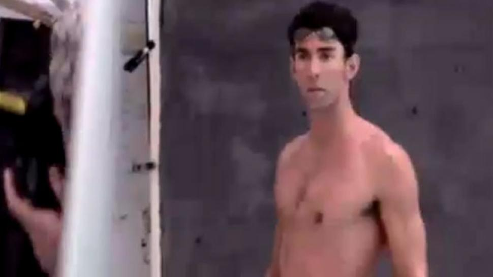 Are not michael phelps naked
