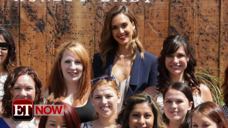 Jessica Alba Salutes Military Moms With Ultimate Baby Shower