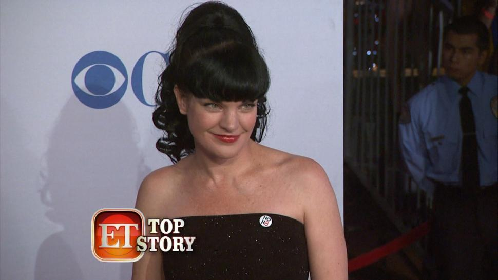 Ncis Star Pauley Perrettes Deadly Hair Dye Entertainment Tonight