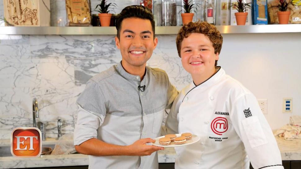 Masterchef Junior Winner Talks Gordon Ramsay Demos Favorite