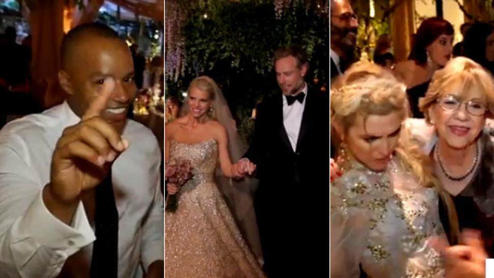 The Dress The Guests The Dancing Inside Jessica Simpson S Wedding Reception Entertainment Tonight