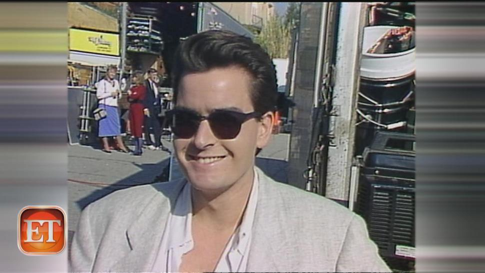 See a young charlie sheen slam his first ever movie entertainment see a young charlie sheen slam his first ever movie thecheapjerseys Images