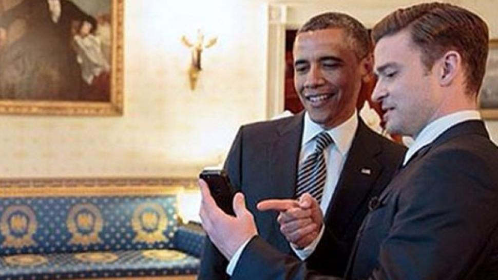 Justin Timberlake Is Hanging With President Barack Obama