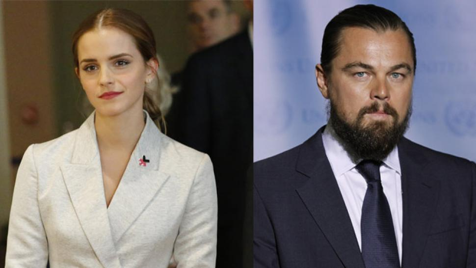 Emma Watson and Leonardo DiCaprio Draw Attention to the ...