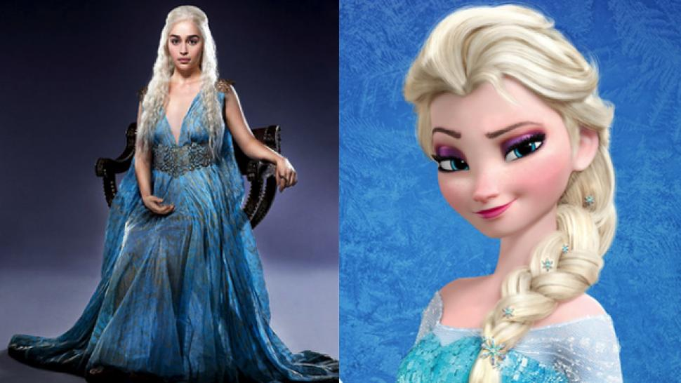 A Bunch Of Kids Adorably Mistook Game Thrones Character For Elsa From Frozen
