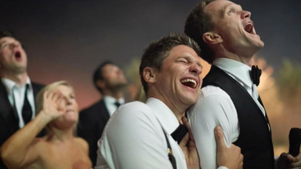 Pictures of neil patrick harris wedding
