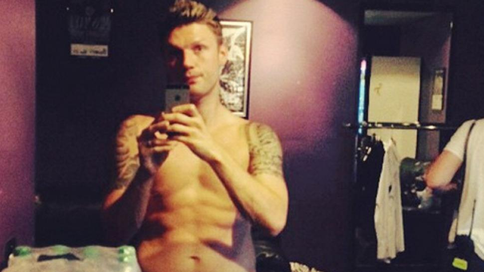 With Nick carter sexy cover sorry