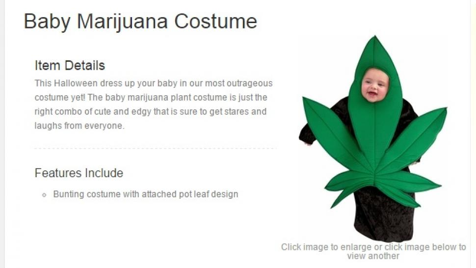 Now You Can Dress Your Baby as a Marijuana Leaf for Halloween  sc 1 st  Entertainment Tonight & Now You Can Dress Your Baby as a Marijuana Leaf for Halloween ...