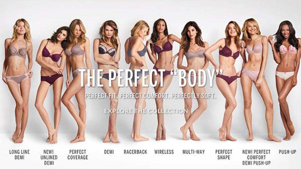 5d5c02e1989 Victoria s Secret Slammed for  Perfect Body  Campaign