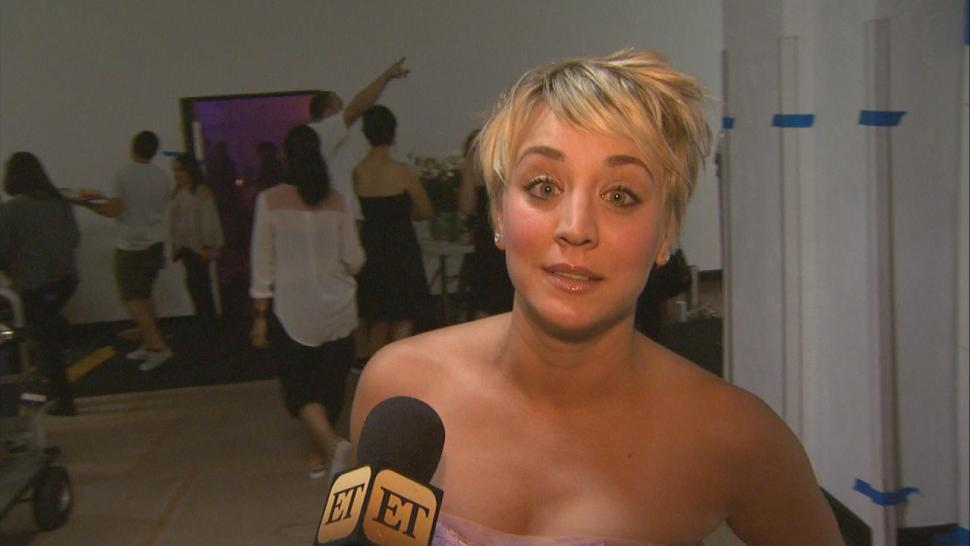 Kaley Cuoco Recycles Real Life Wedding Dress For Music Video