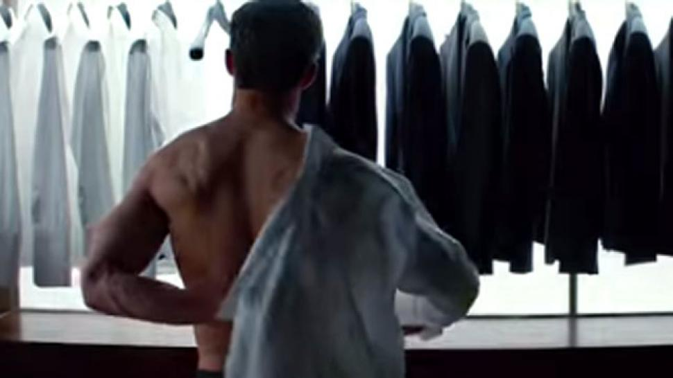 The iconic 39 fifty shades of grey 39 scene that didn 39 t make for Second 50 shades of grey