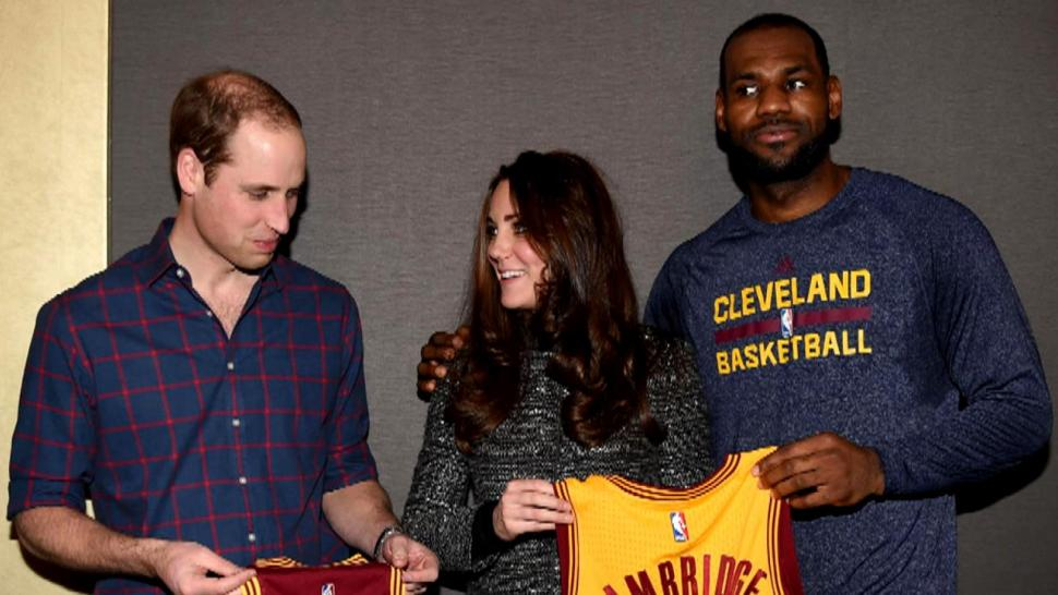 9fefbaefc LeBron James Committed a Royal Foul When He Met William and Kate ...