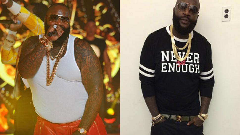 Image result for rick ross dramatic weight loss