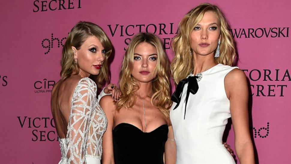 Did Taylor Swift Out Victoria S Secret The Actual Victoria S Secret Models Entertainment Tonight
