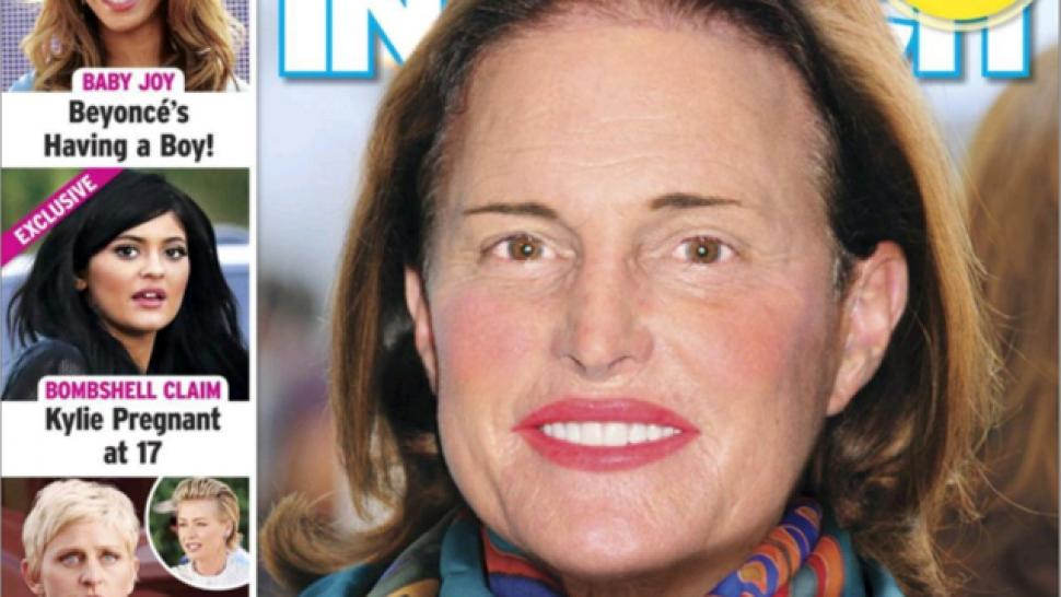 'In Touch' Magazine Photoshops Makeup on Bruce Jenner, Sparks Outrage