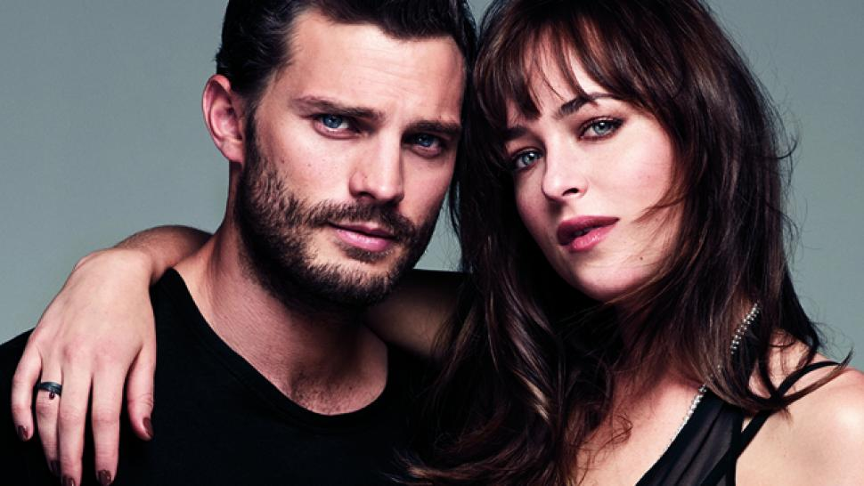 Fifty Shades Of Grey Stars Open Up About Filming In The Red Room Entertainment Tonight
