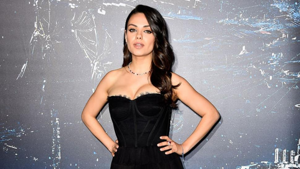Mila Kunis Makes A Super Hot First Red Carpet Appearance Since Giving Birth To Baby Wyatt