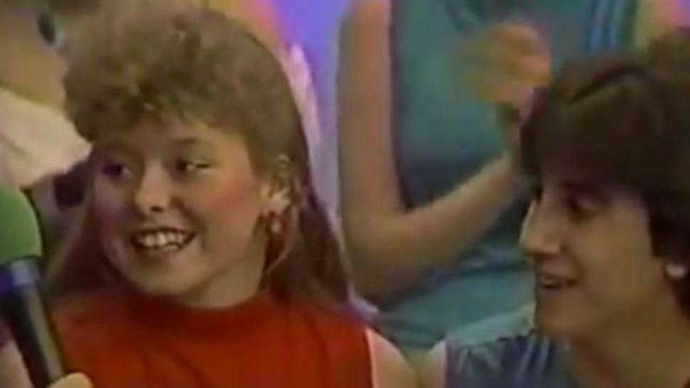 Watch Kelly Ripa Bust A Move On 80s Dance Show