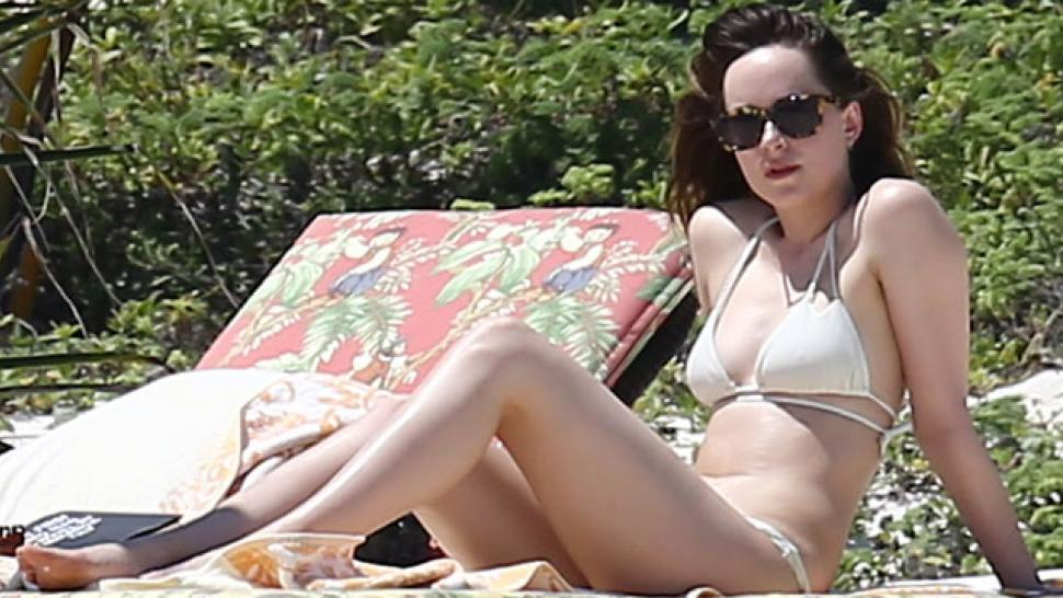 Dakota Johnson Flaunts Her Bikini Body Alongside Mom