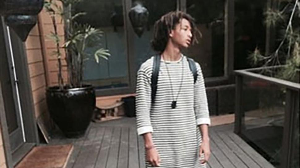 Jaden Smith Steps Out In A Dress
