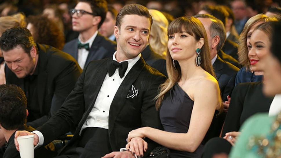 Jessica Biel Justin Timberlake Share the First Photo of Their Baby