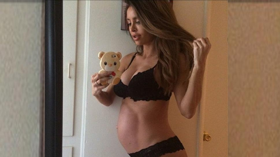 Super Fit Model Sarah Stage Welcomes Baby Boy