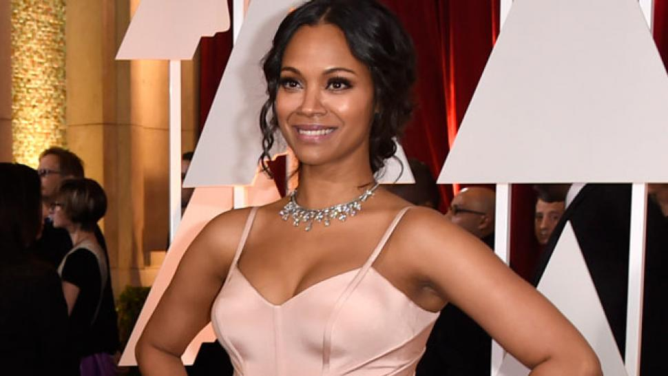Zoe Saldana A Producer Once Said He Hired Me For How I Held A Gun In Panties