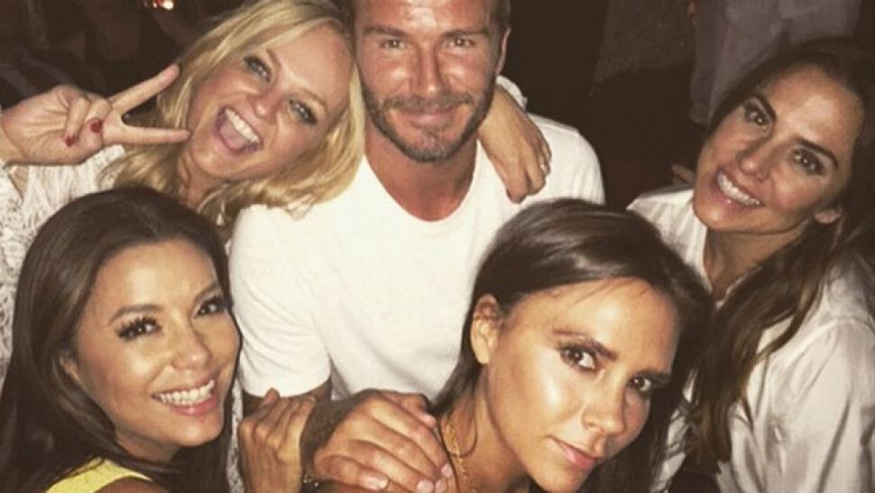 Spice Girls Reunite For David Beckham's 40th Birthday